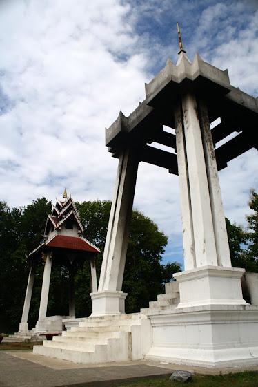 Uno de los templos de Luang Prabang