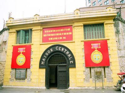 Así se ve la entrada del museo que antes era una prisión, y se llama Prison 1