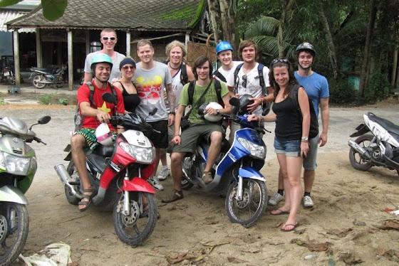 El equipo de Viaje por Vietnam
