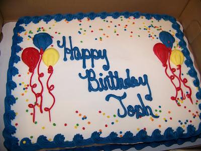 Birthday Cakes For Joshy