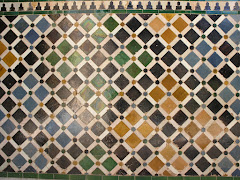 Tiles at the Alhambra, Granada