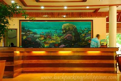 Dakak Beach Resort main lobby