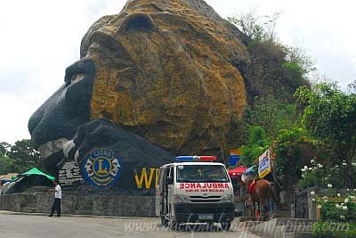 baguio lion's head