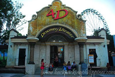 enchanted kingdom 4d movie theater