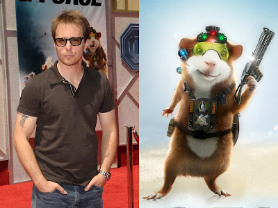 Jori S Entertainment Journal Sam Rockwell Lends His Voice To Darwin Leader Of The G Force