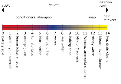 engineer scale diagram shampoo ph scale diagram the daily apple: apple #416: how hair conditioners work