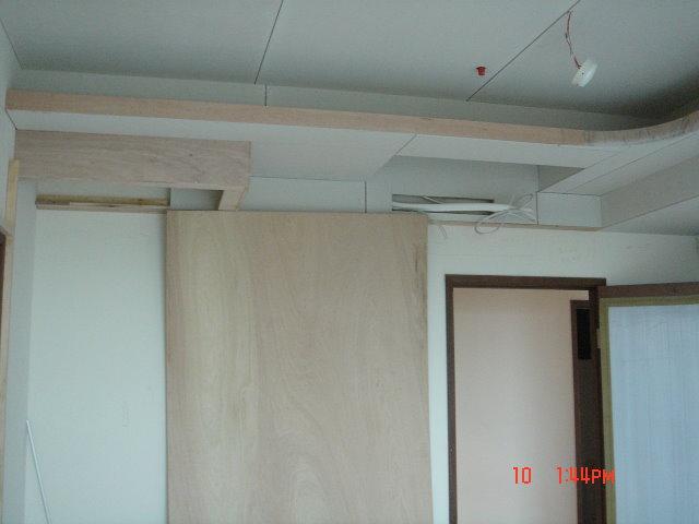 愣阿批居: 開工第 5~8 天 - 天花板/電視牆/隔屏施作