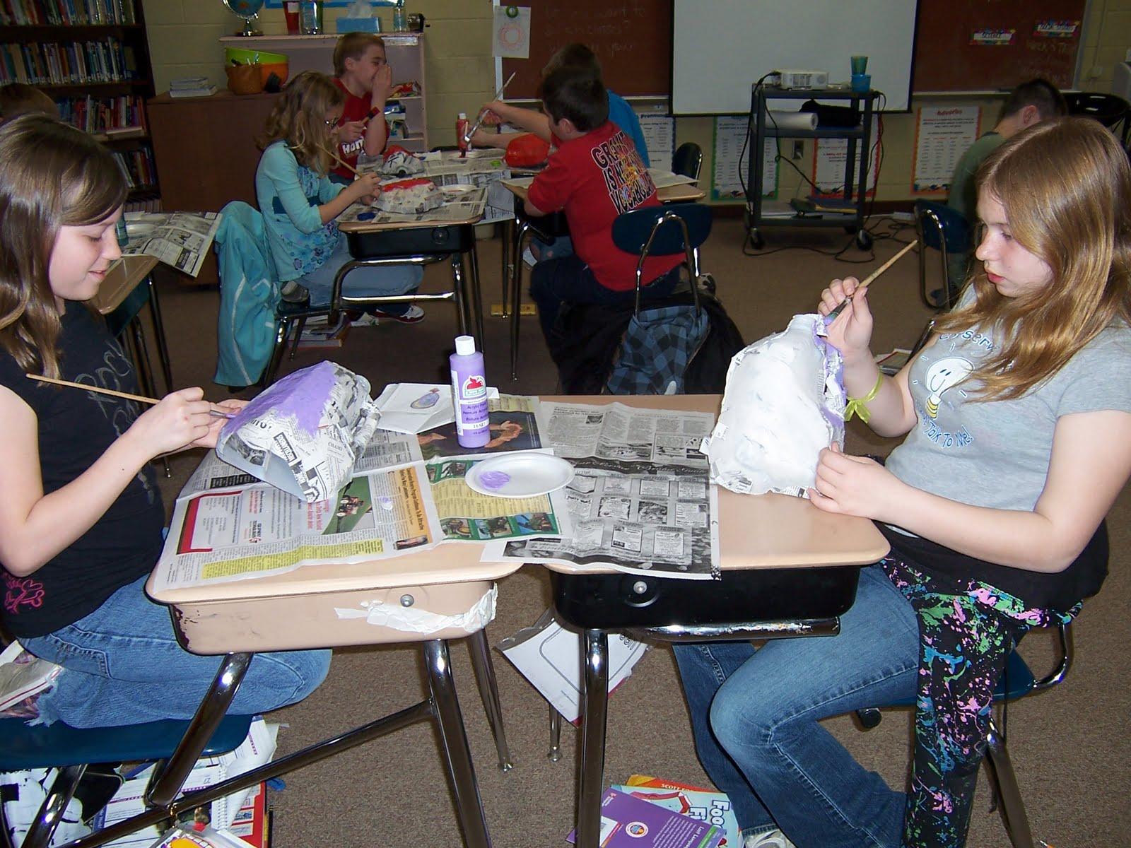 Mrs Thompson S Classroom