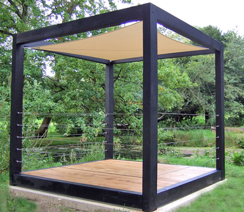 Shedworking the garden cube for Tj garden rooms