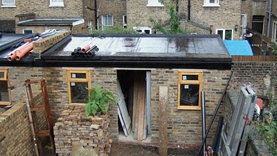 Shedworking Garden Office Green Roofs A Pictorial Guide