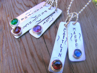 personalized handstamped jewelry