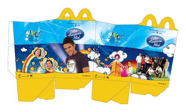 Aliyacrafts Mcdonalds Happy Meal Box 3 Versions