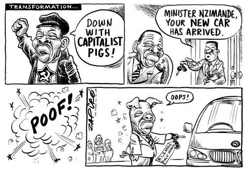 Economic Systems Political Cartoons
