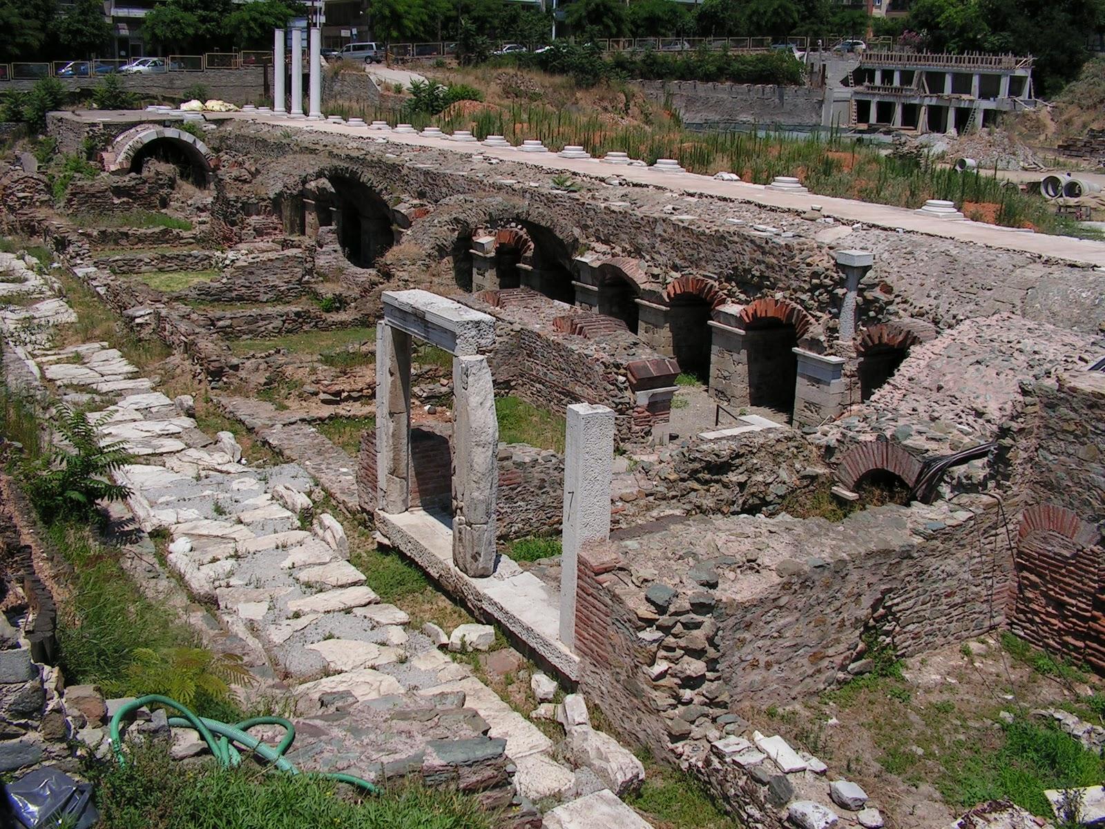 Run the Good Race: The marketplace - Ancient Agora, Greece
