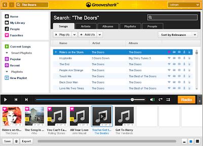 Free Music Like Grooveshark