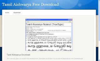 AISHWARYA FONT DOWNLOAD
