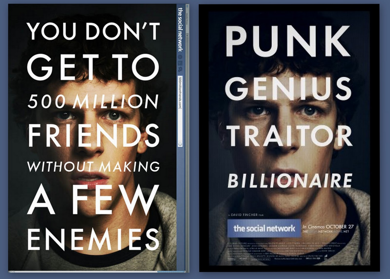 the social network film