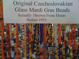 Vintage Beads From Mardi Gras