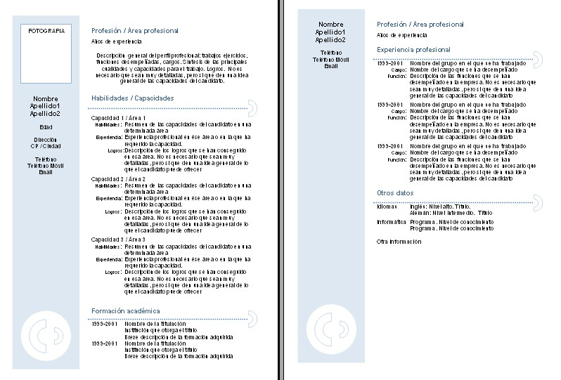 Curriculum Vitae Modelo Combinado Descargar Sample Nursing Home
