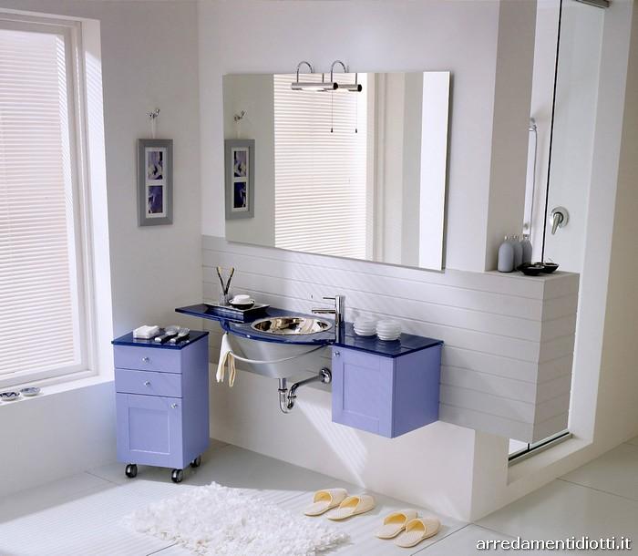 Arredamenti diotti a f il blog su mobili ed arredamento - Arredo bagno colorato ...