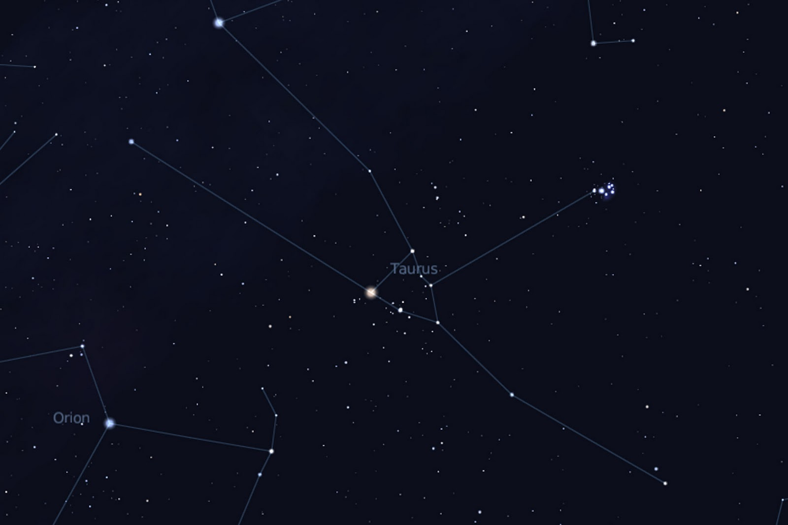 constellations taurus nebula - photo #23