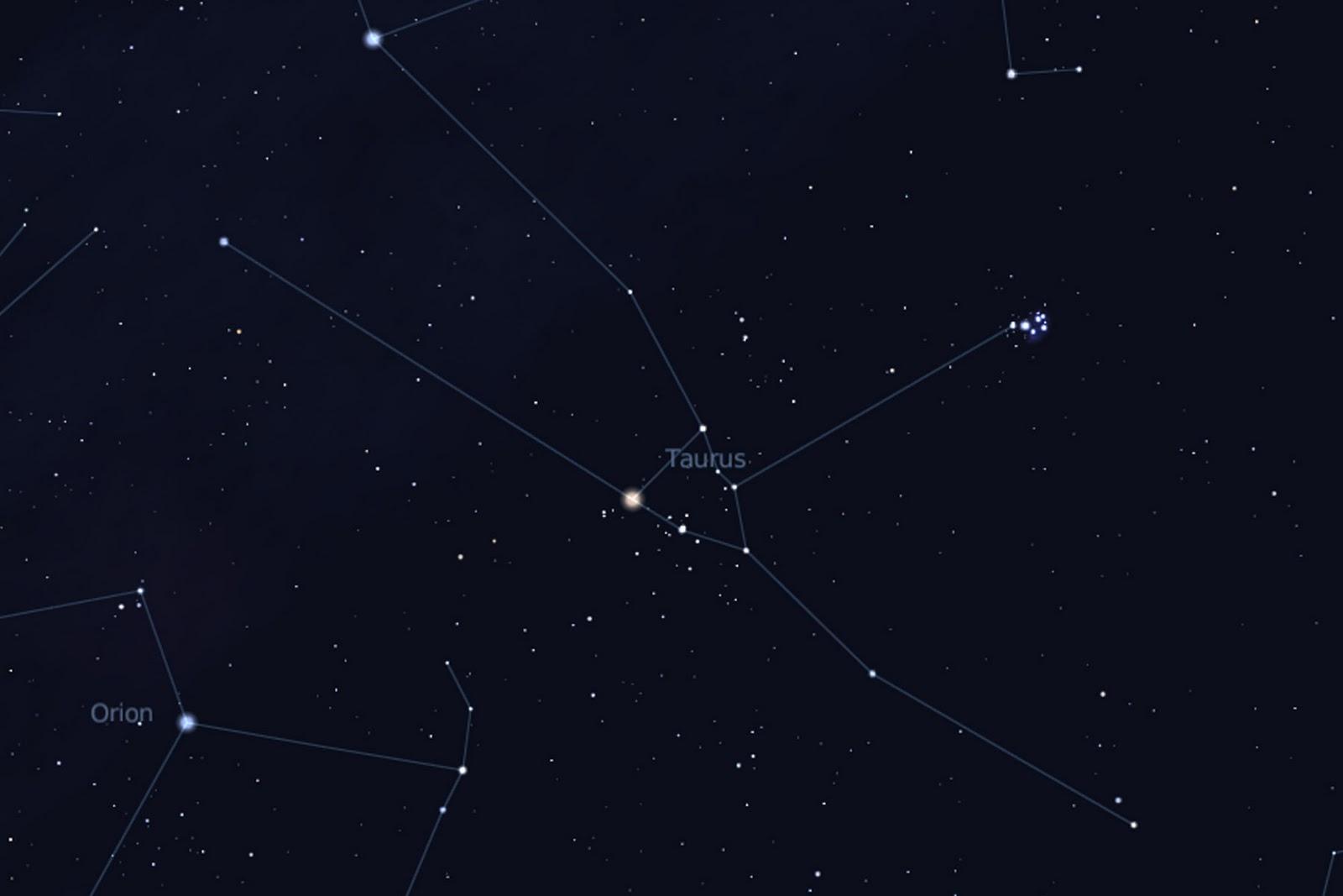 Taurus Constellation Related Keywords - Taurus ...