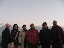 Retreat in Nepal, 2008