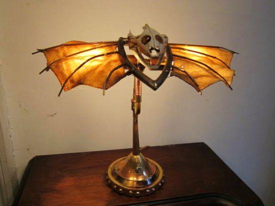 Weird Monster Lamps