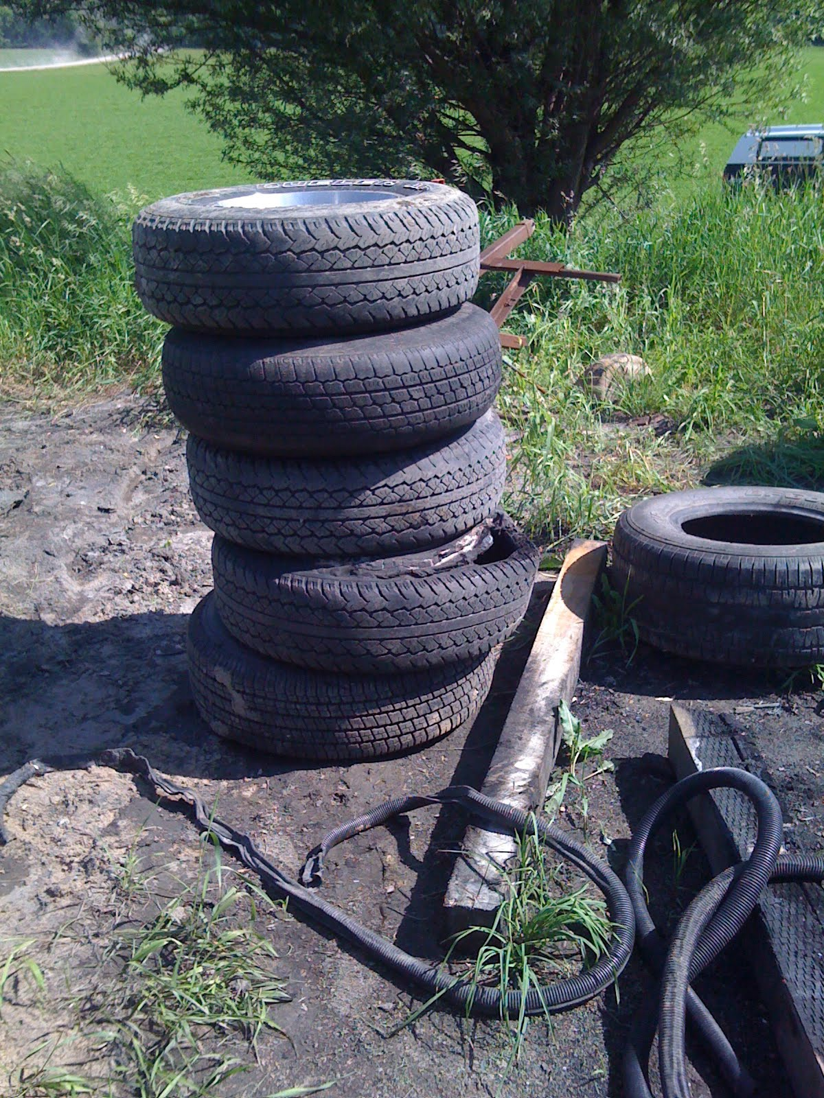 HICK CHIC: I have uncovered the breeding grounds of the SCRAP TIRES!