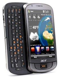 Acer estréia no mercado de smartphones com belos aparelhos!