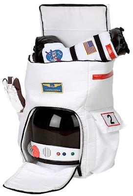 Astronaut Back Pack é uma mochila pra quem sonha em ser um astronauta!