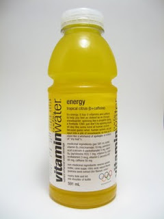 What I Drink At Work Glac 233 Au Vitamin Water Energy Review