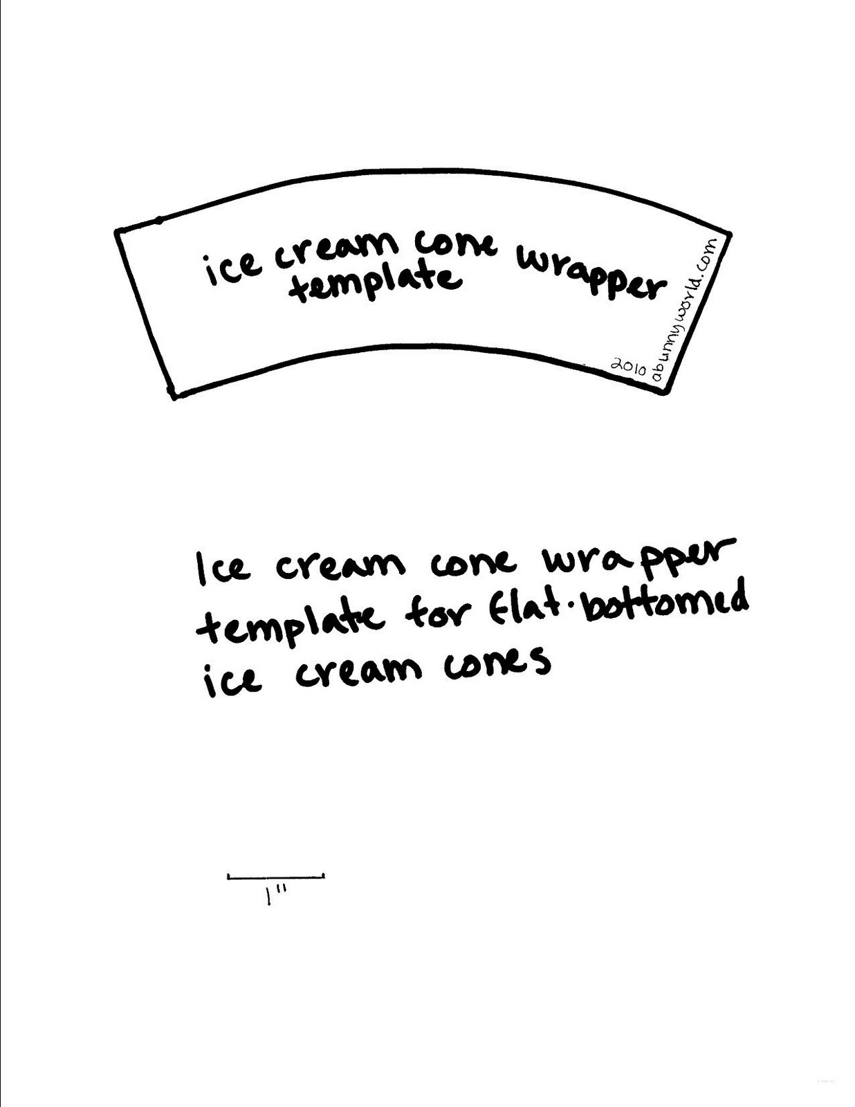 Ice Cream Cone Book Report