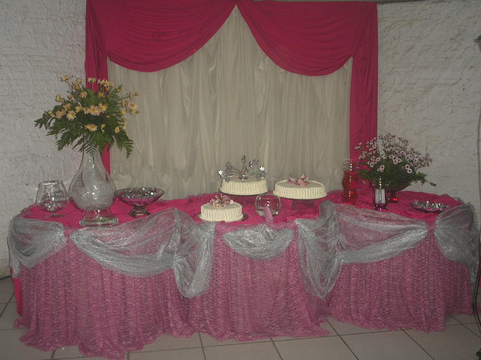 Decoracoes Para Festas 15 Anos: Bete Decorações: Festa De 15 Anos. Decoração Rosa Pink