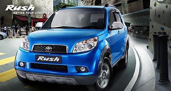 Spesifikasi Toyota Rush G Matic 2010
