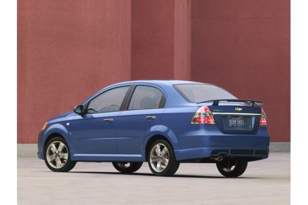 Fitur New Chevrolet Aveo 2010