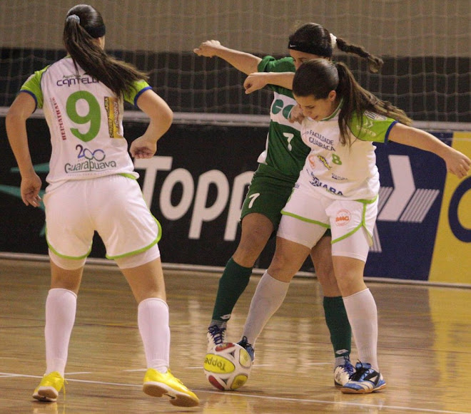 FIFA Women Futsal: Ponytail ,Elbowing - a rough game played by  Brazilian Ladies .