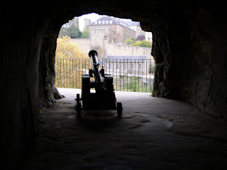 cannon in the underground castle