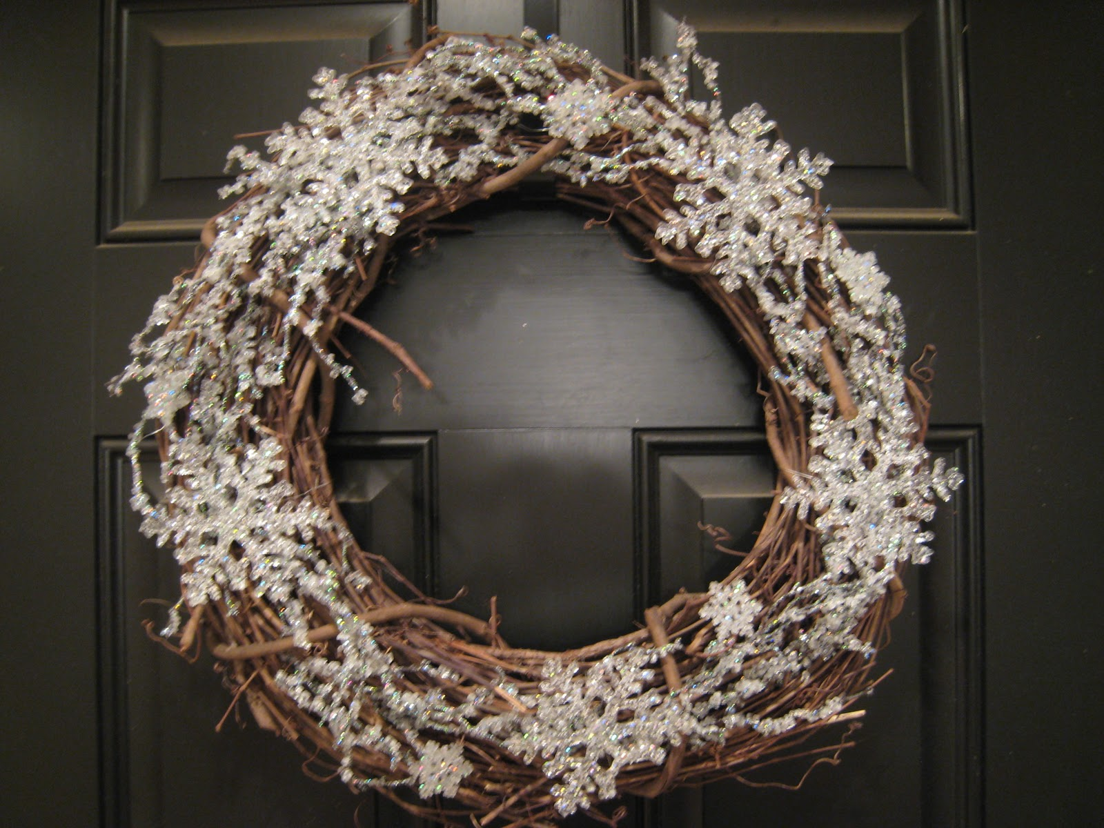 teach. craft. love.: Winter Wreath