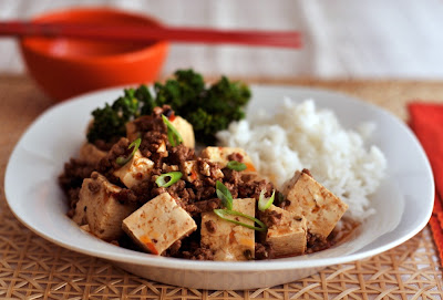 Ma Po Tofu For Mr. Tofu (And Mrs. Bacon)