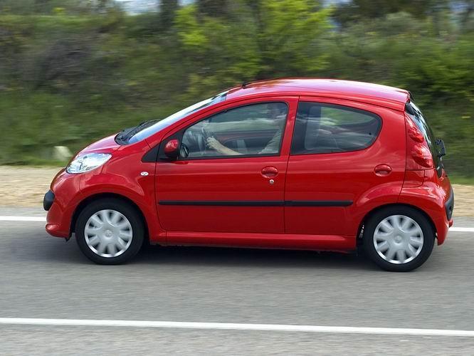 Kultur Jensen: Min nye Peugeot 107 comfort plus.