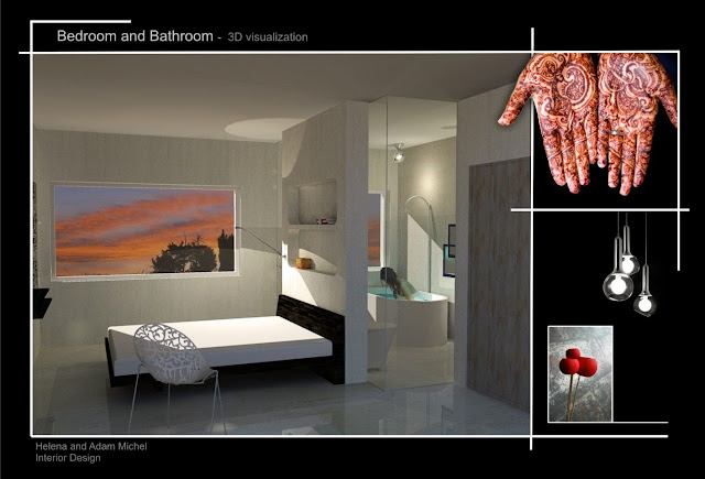 All residence design bathroom and bedroom special rome for Apartment design ppt
