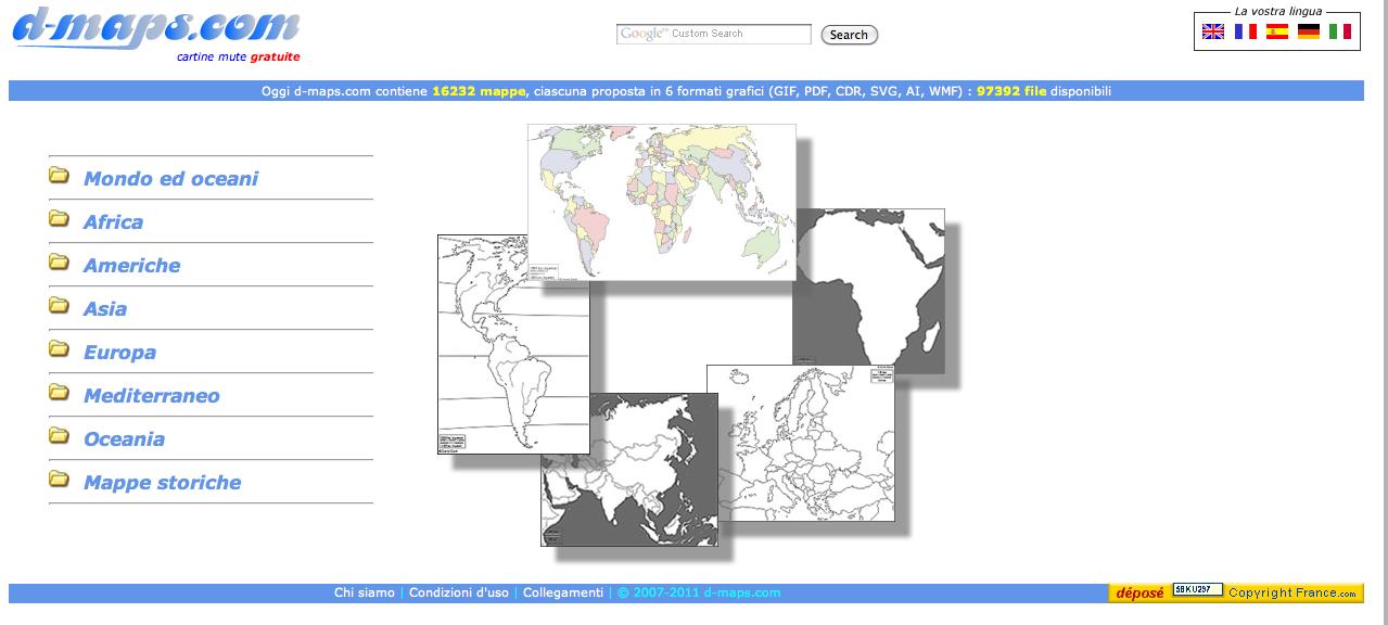 Wii4dida D Mapscom Mappe Mute Gratuite Cartine Mute Gratuite