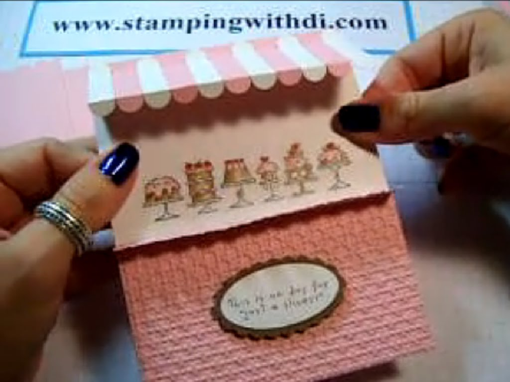 Glamourie Awning Card
