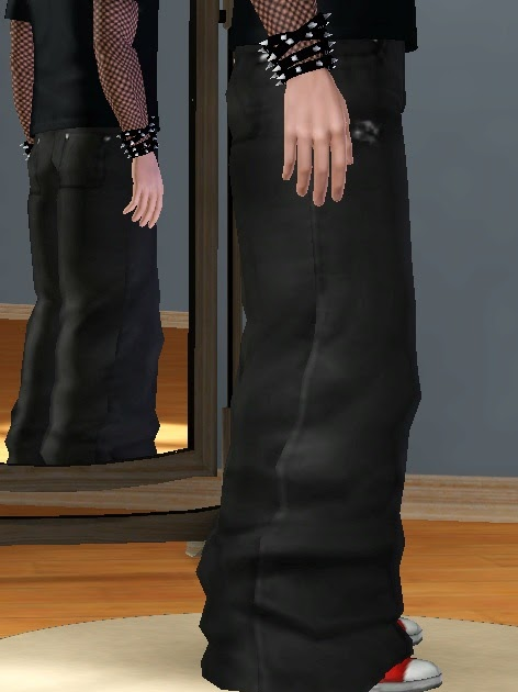 My Sims 3 Blog: Baggier Baggy Jeans for Teen - Adult Males ...