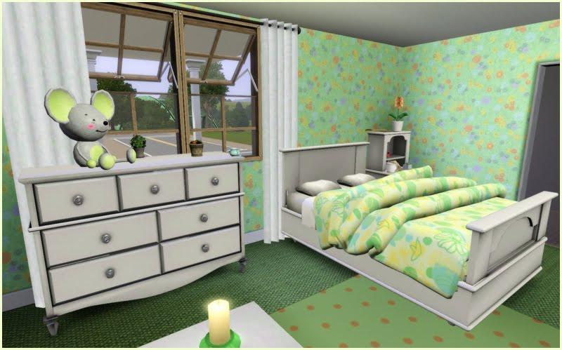 My Sims 3 Blog Summer Bedroom Set By Jonesi