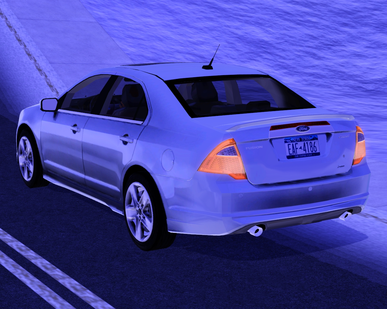 my sims 3 blog 2010 ford fusion by fresh prince. Black Bedroom Furniture Sets. Home Design Ideas