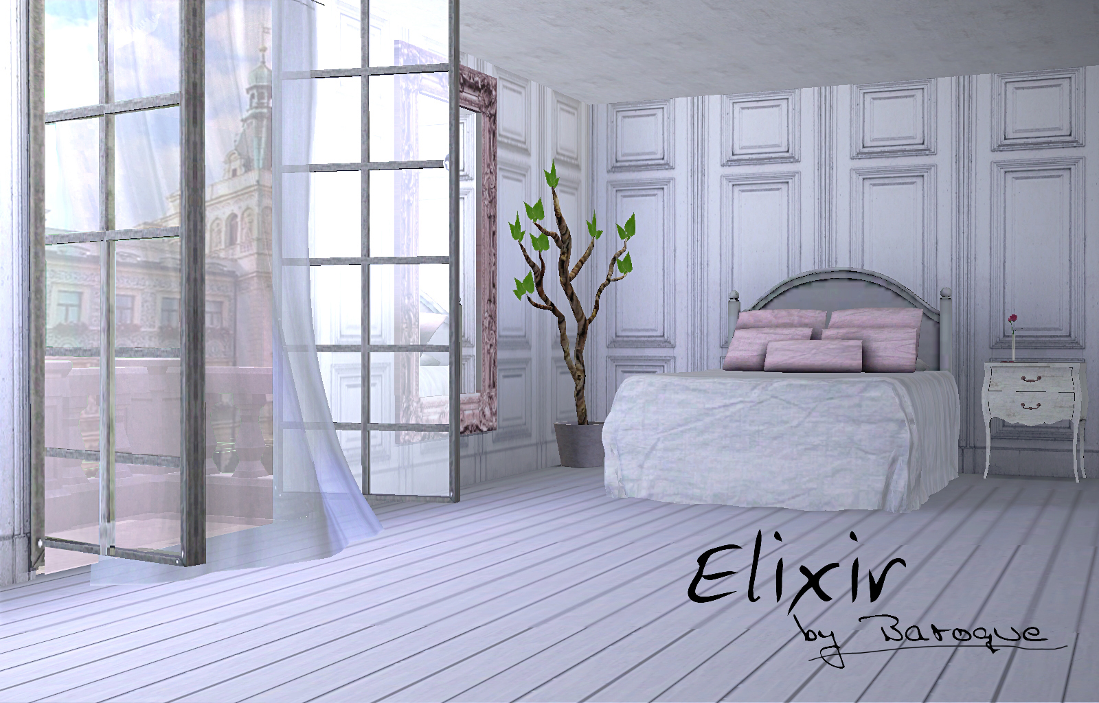 My Sims 3 Blog Elixir Bedroom By Baroque