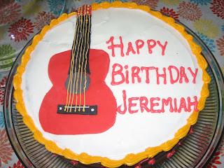 Alexandria S Adventures In Baking Jeremiah S Birthday
