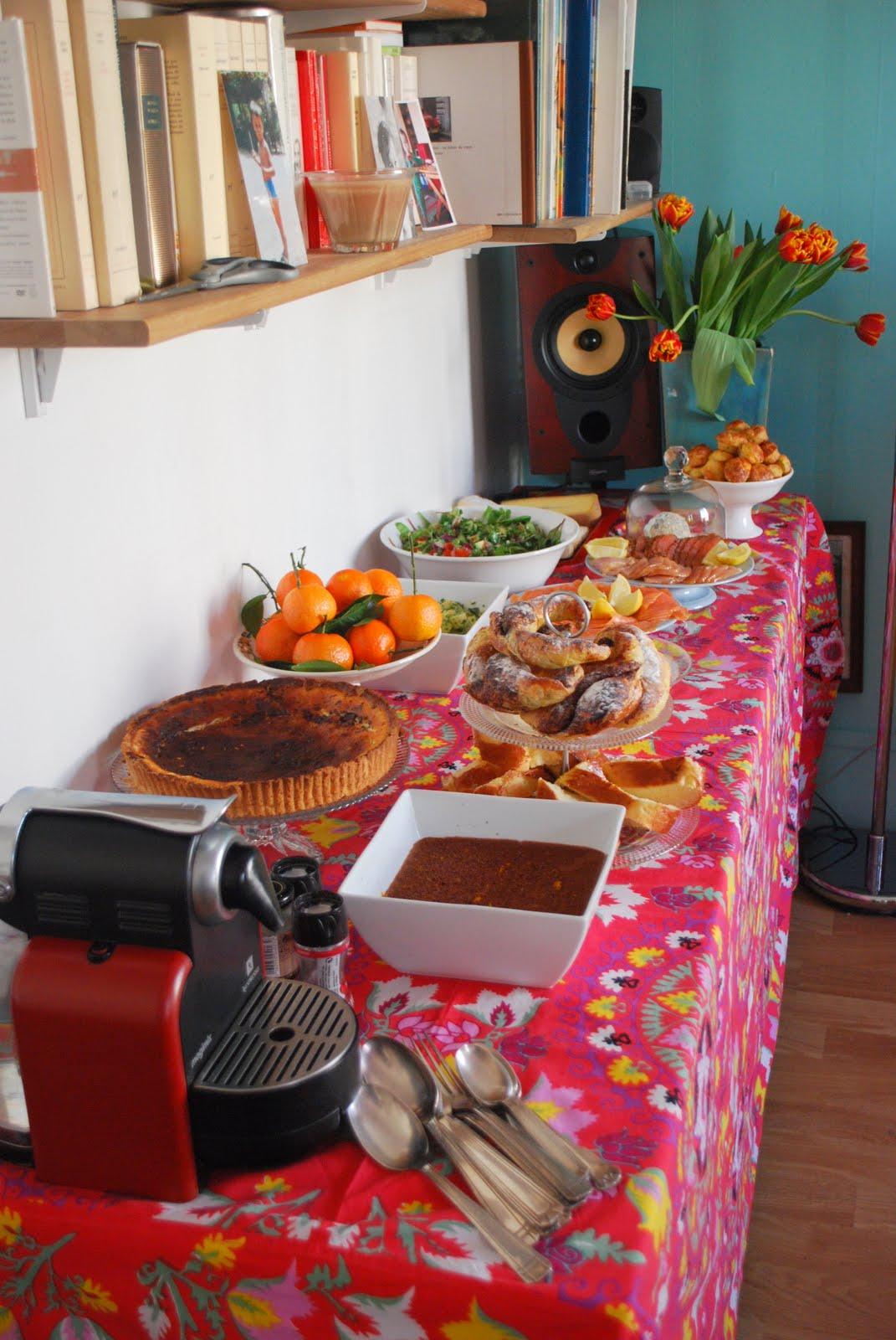 la cuisine de juliette une tarte aux girolles et la fontina des id es pour un brunch et des. Black Bedroom Furniture Sets. Home Design Ideas